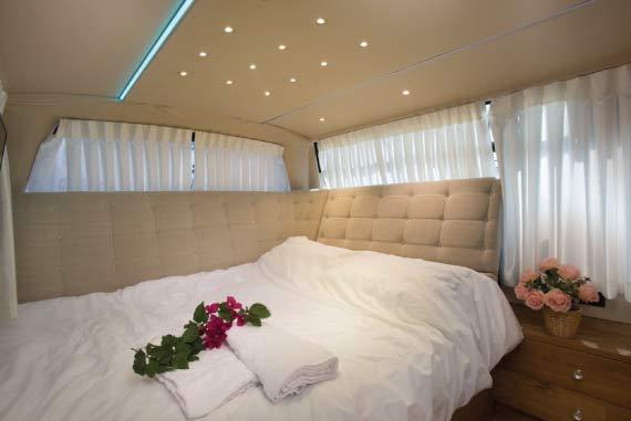 חדר שינה זוגי מעוצב